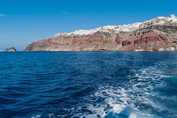 Navigazione a Santorini 1
