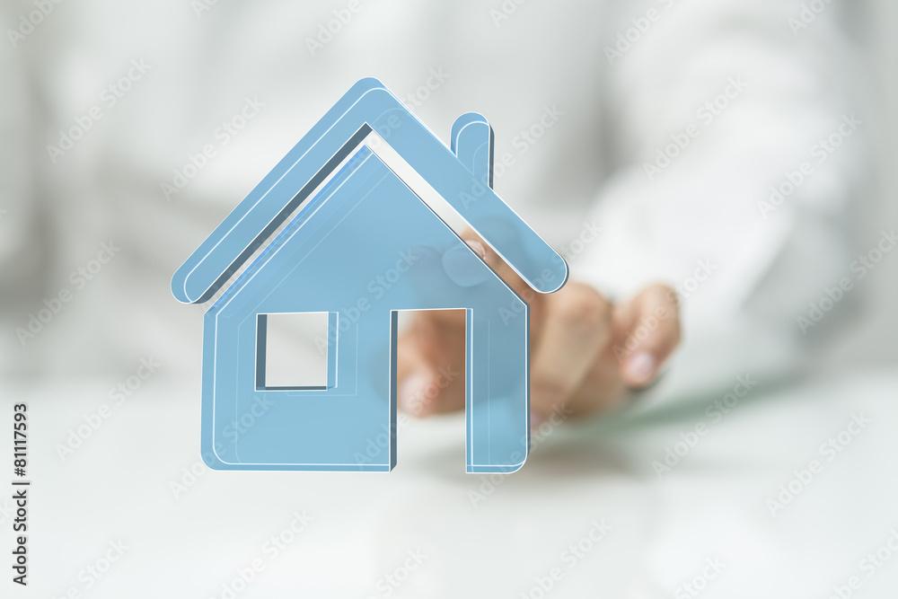 ręka bezpieczeństwa własność - powiększenie