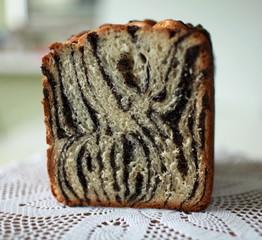 Celebratory baked  bread