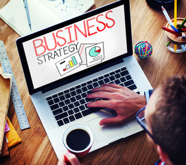 Business Strategy Analysis Solution Tactics Concept