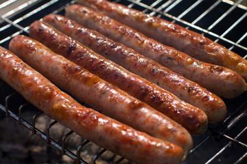 bbq breakfast sausage sizzle
