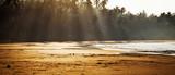 Tropical beach at dawn - 81118946