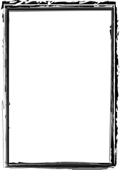 schwarzer Rahmen