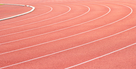 Curve of a Running Track