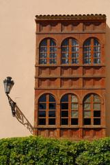 Colonial window in Santa Ana