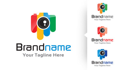 Color Camera Icon Logo