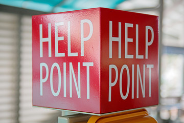 Help Point sign