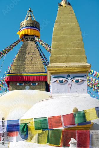 Papiers peints Népal Boudhanath Stupa, Kathmandu, Nepal