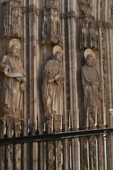 Estatuas Fachada Catedral Toledo