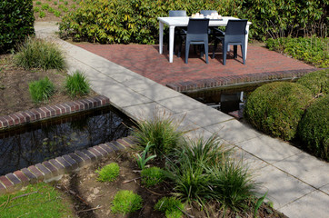Contemporray garden design