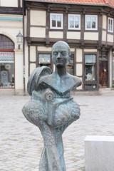 Dorothea Christiane Erxleben Statue