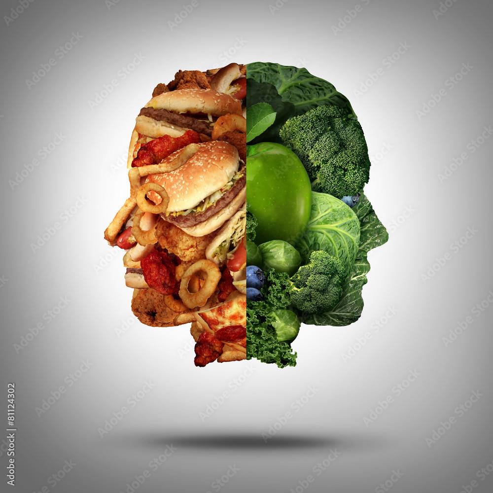 jedzenie cholesterolu koncepcja - powiększenie