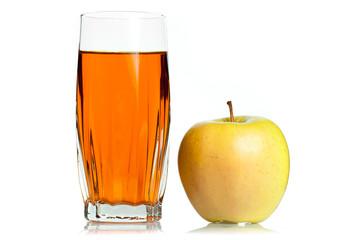 яблоко стакан
