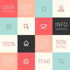 ui for mobile or web design