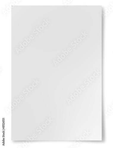 Leinwanddruck Bild Paper sheet