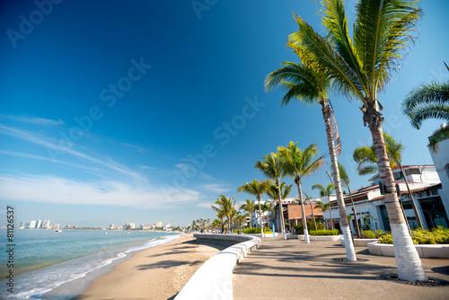 Foto op Canvas Kust Puerto Vallarta Malecon