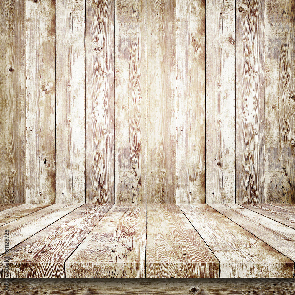 drewniany pusty ściana - powiększenie