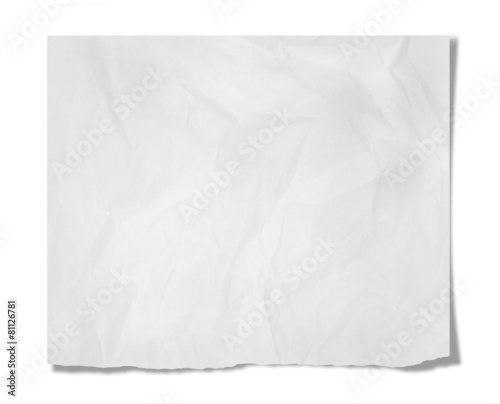Leinwanddruck Bild Piece of paper
