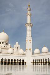 Sheikh Zayed grande mosquée d'Abu Dhabi