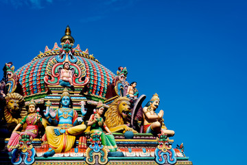 Sri Mariamman temple in Singapore © Christopher Howey