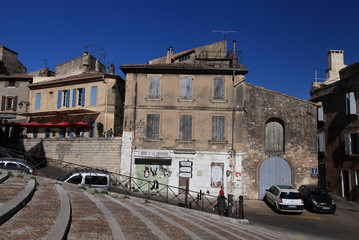 Colorful streets of Arles