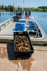 Prince Edward Island Lobster and Lobster Boat