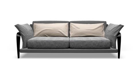 Sofa. 3D. Contemporary sofa