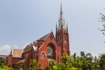 Holy trinity Cathedral in Yangon,Myanmar