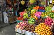 Fruit market in Indonesia