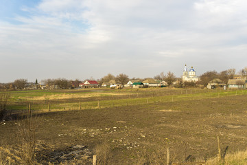 Ukrainian rural church