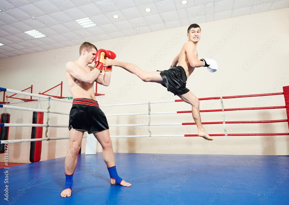 kopniak boks szkolenie - powiększenie