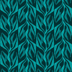 Hand drawn seamless watercolor brush pattern,fashionable sophist