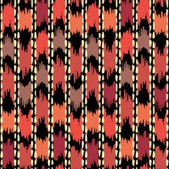 Navajo aztec textile inspiration pattern. Native american indian