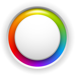 Colorful circle button background