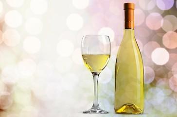 Wine. White wine