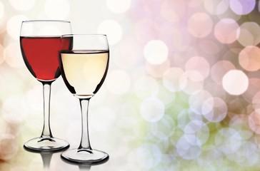 Wineglass. Wine