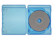 Bluray disc isolated - 81136170