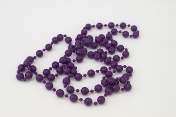Violet beads