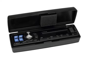 Modern car radio head