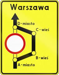 Detour In Poland