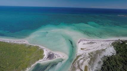 desembocadura rio mar caribe