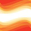 Abstract background - geometric vector pattern. Abstract orange waves.