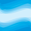Abstract background - geometric vector pattern in blue color.