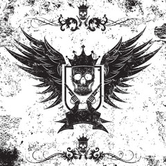 King Gangster Insignia