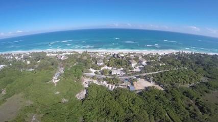 resort en el caribe