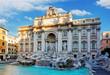Trevi Fountain, rome, Italy. - 81147711
