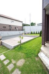 住宅 戸建て 専用庭 カースペース3台分 イメージ