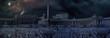Leinwanddruck Bild - Apocaliptical scene to Saint Peter Square in Rome