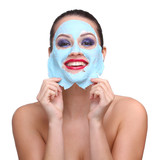 Beauty skin care cosmetics and health concept.