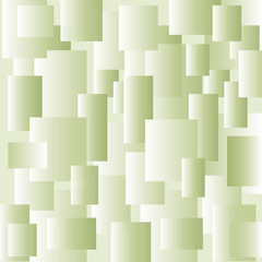 Abstract background of green rectangles.